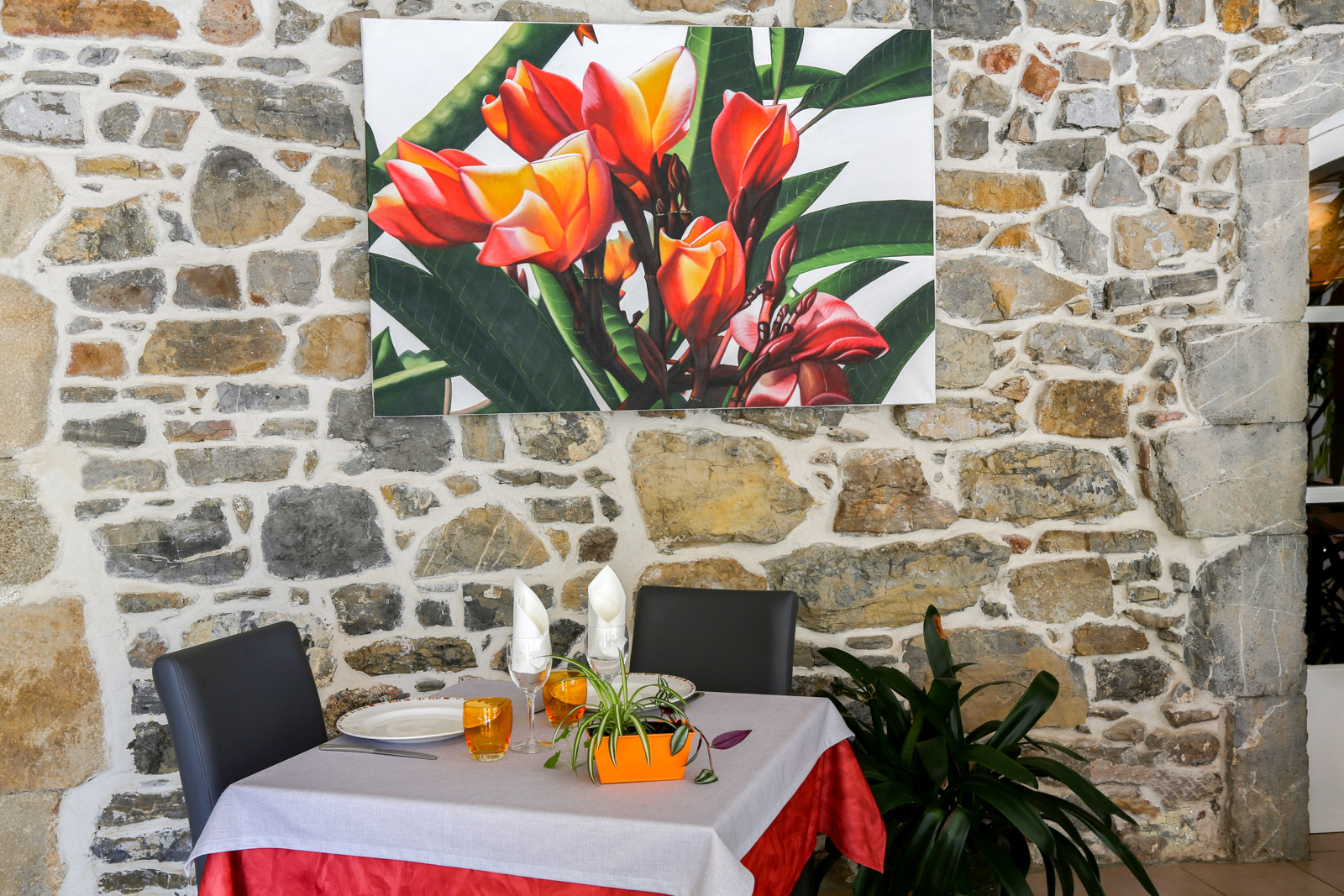 Fine dining at our cevenol restaurant