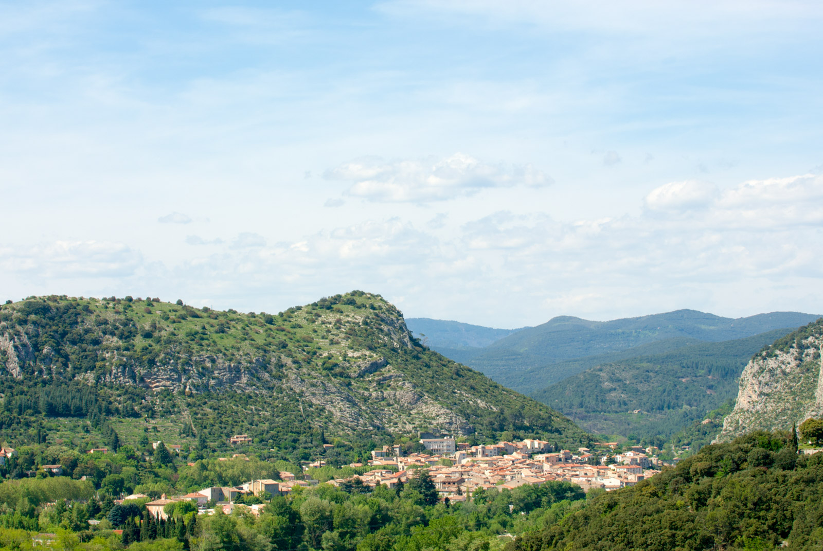View of Anduze valley