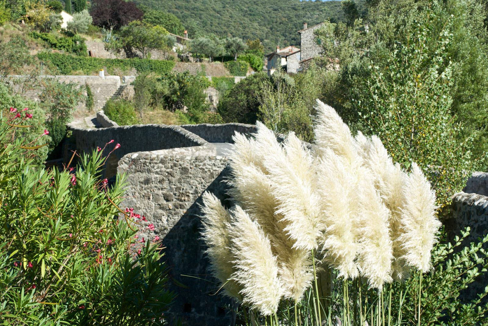 Le Pont des Camisards, dans la commune de Mialet, en Cévennes